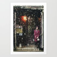 Snowscape I Art Print