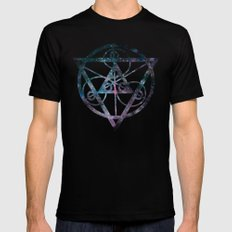Angelic SMALL Mens Fitted Tee Black