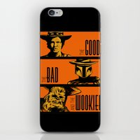The Good, the bad and the wookiee iPhone & iPod Skin