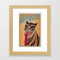 Happy Chinese New Year!! Framed Art Print