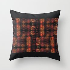 Dragon Gold Throw Pillow