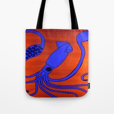 Leopold the Squid Tote Bag