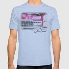 Pink Cadillac - Cotton Candy  Mens Fitted Tee Athletic Blue SMALL