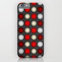 Dark Romance Polka iPhone 6 Slim Case