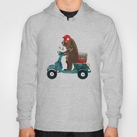 Scooter Bear Hoody