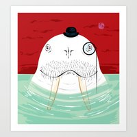 Sir Wilfred Wallace, The Wonderful Walrus Art Print