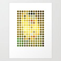 Gustav Klimt Remixed (2009) Art Print