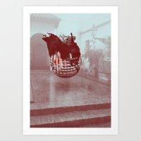 Sevilla Monsters Art Print