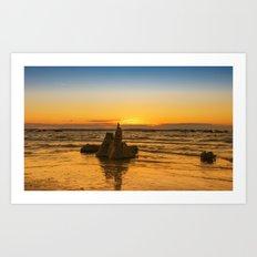 Summer travel in dreams Art Print