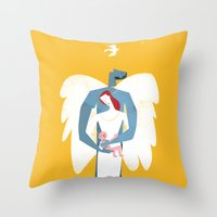 New Christmas Family In … Throw Pillow