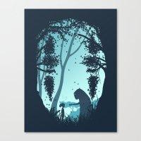 Lonely Spirit Canvas Print