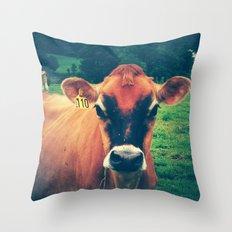 Cow 110 Throw Pillow