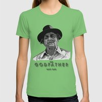 The Godfather - Part One Womens Fitted Tee Grass SMALL