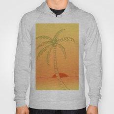 Palm Tree at Sunset Hoody