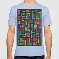 Doors - Black Mens Fitted Tee Athletic Blue SMALL