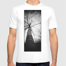 pantree White SMALL Mens Fitted Tee