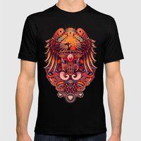 The Beauty of Papua Mens Fitted Tee Black SMALL
