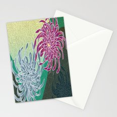 chrysanthemums  Stationery Cards