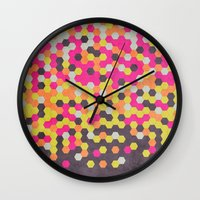 Honeycomb | Abyss Wall Clock