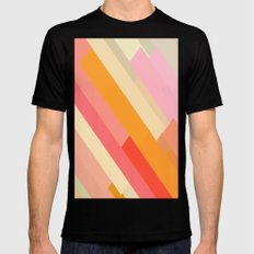 color story - sprinkles Mens Fitted Tee SMALL Black