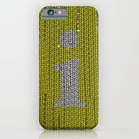 Winter clothes. Letter i. iPhone 6 Slim Case