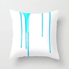 Sky Splatter (F0r cases, skins, and shirts) Throw Pillow