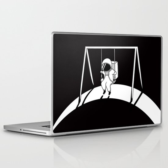 In Space No One Will Push Your Swing Laptop & iPad Skin