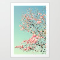 Spring Kissing The Sky Art Print
