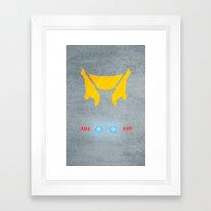 Striker Eureka Framed Art Print