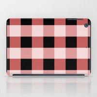 Pink squares iPad Case