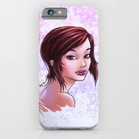 iPhone & iPod Case featuring Lips & Stars by RoPerez