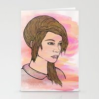 Do you love me? Stationery Cards