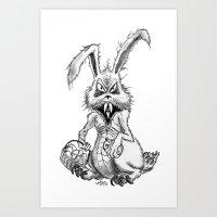 easter evil Art Print