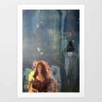 Flicker Art Print