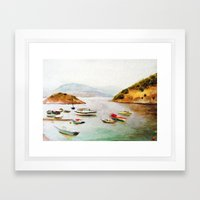 EYGENIA LOGVYNOVSKA , SEA Framed Art Print