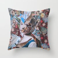 La Fanciulla Di Rotari Throw Pillow