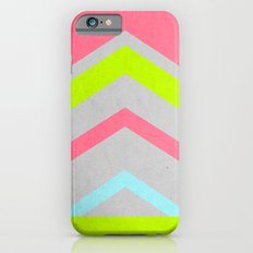 Abstract Neon iPhone 6 Slim Case