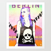 Welcome To BERLIN ||| Wi… Art Print