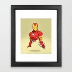 Halfman Framed Art Print
