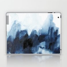 Indigo watercolor 2 Laptop & iPad Skin