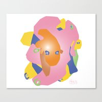 Creature 1 Canvas Print