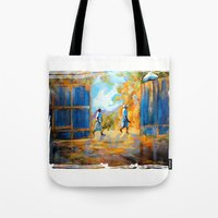 The Blue Gates /Haiti Tote Bag