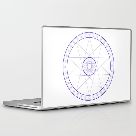 Anime Magic Circle 10 Laptop & iPad Skin