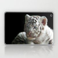 White Tiger Cub Laptop & iPad Skin
