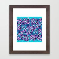Blue spring Framed Art Print