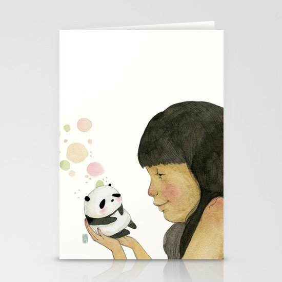 I adore you, baby Stationery Card