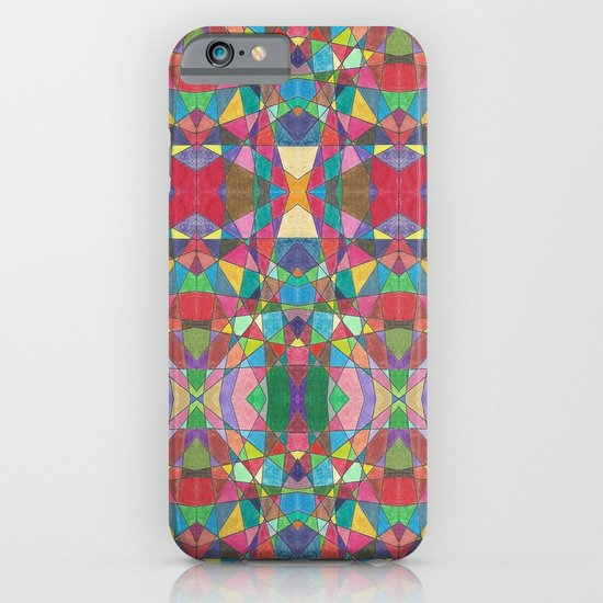 Criss Cross Colorful iPhone & iPod Case