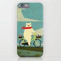 Yeti Taking A Ride iPhone 6 Slim Case