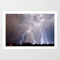 Monsoon Jewel of the Night Art Print