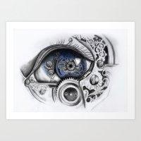 Mechanical Eye Art Print